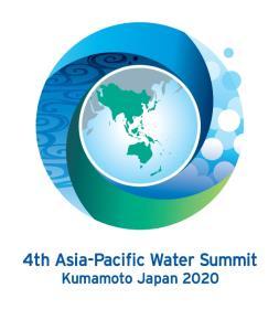 第4回アジア・太平洋水サミット公式ロゴマーク
