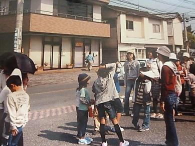 小学校の地域商店街見学会
