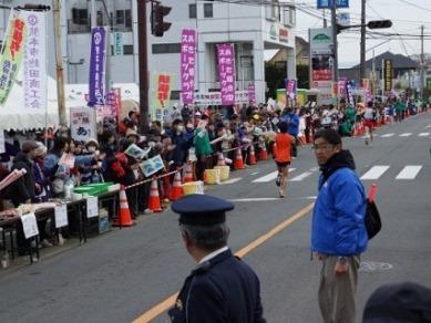 熊本城マラソン「沿道びっしり応援団」