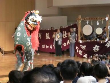 無田口獅子舞
