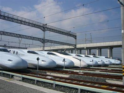 JR新幹線車両基地