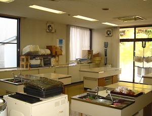 調理実習室の画像