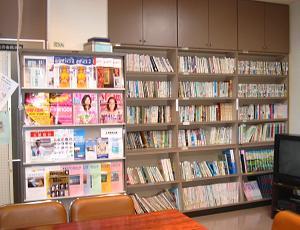 図書コーナーの画像