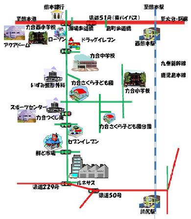 さくらっこ地図