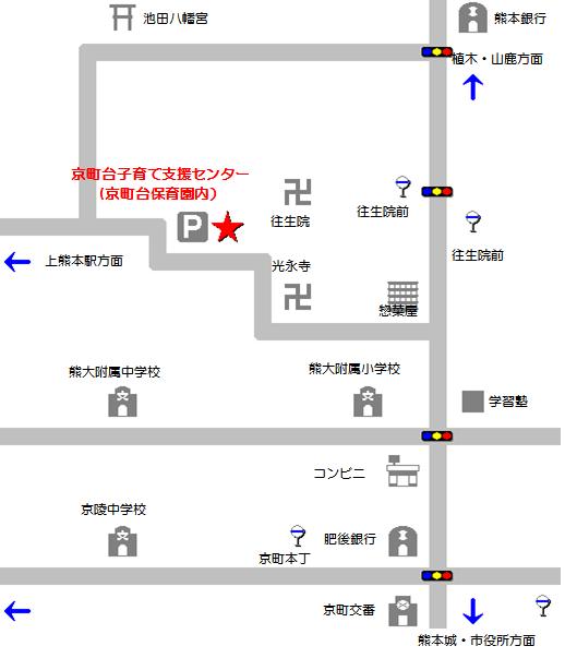 京町台地図