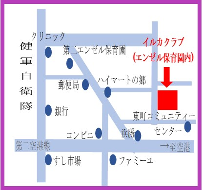 イルカクラブ地図