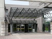 植木公民館南側玄関の写真