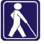 視覚障がい者を表示する国際マーク