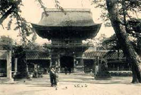 大正時代の「筥崎宮」