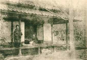 大江村の家の漱石夫妻