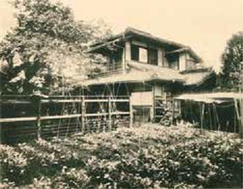 北千反畑の漱石の家