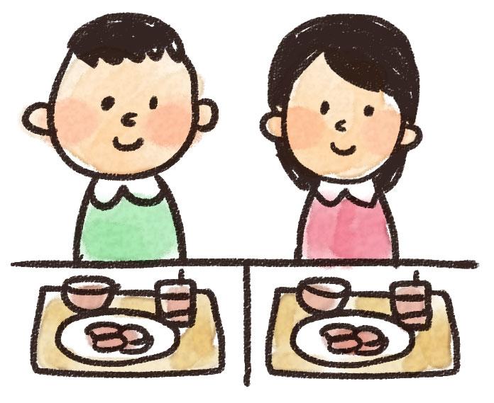 イラスト(食事)