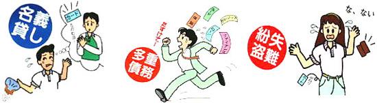 クレジット利用のためのチェックポイント