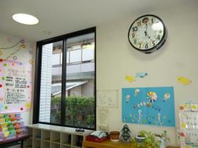 花園児童館玄関