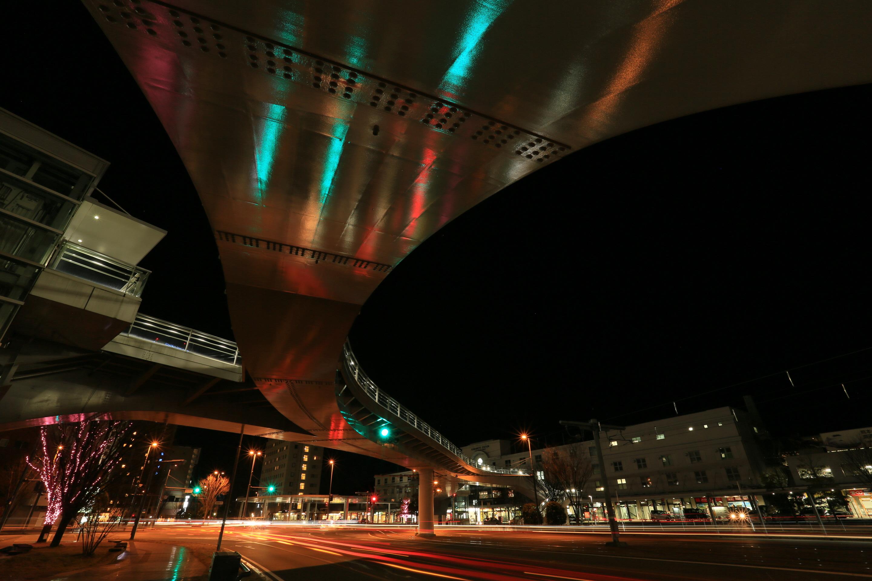 熊本駅前夜景