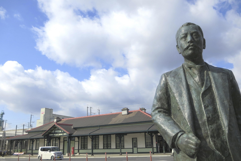 漱石さんと上熊本駅