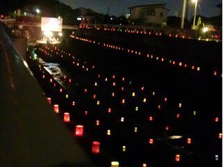 ほたるコイコイ川灯りコンサート