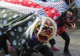 嘉村の獅子舞