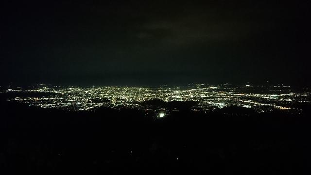 金峰山からの夜景