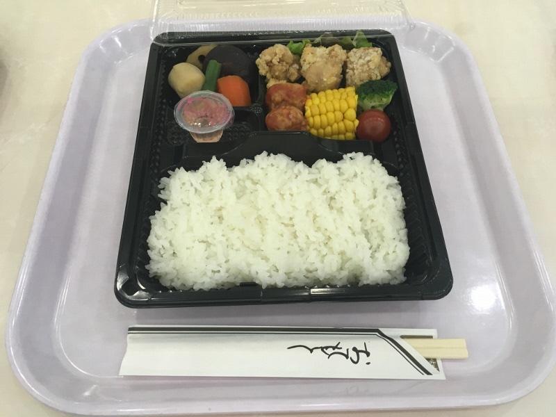 2日目昼食(弁当)
