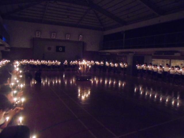 キャンドルに灯火3