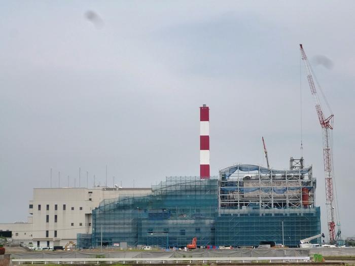 工場棟西側