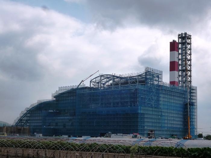 工場棟南西側