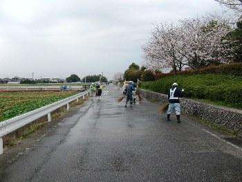 道路一斉清掃