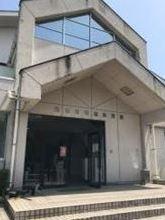 明徳体育館入口