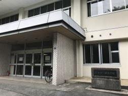 龍田体育館入口