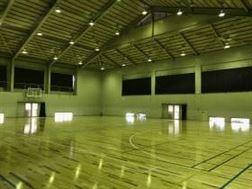 龍田体育館アリーナ