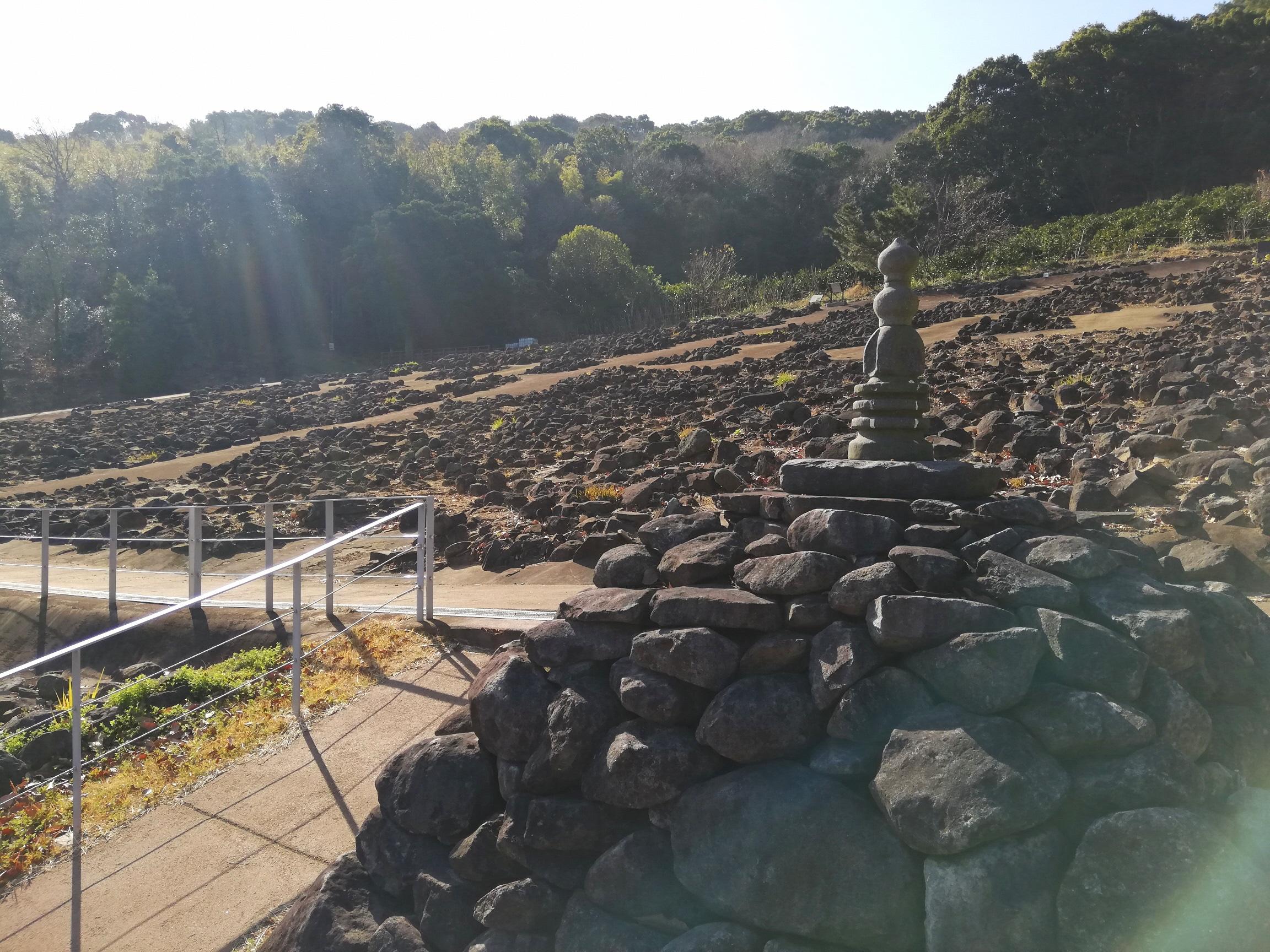 キラキラ輝く池辺寺跡