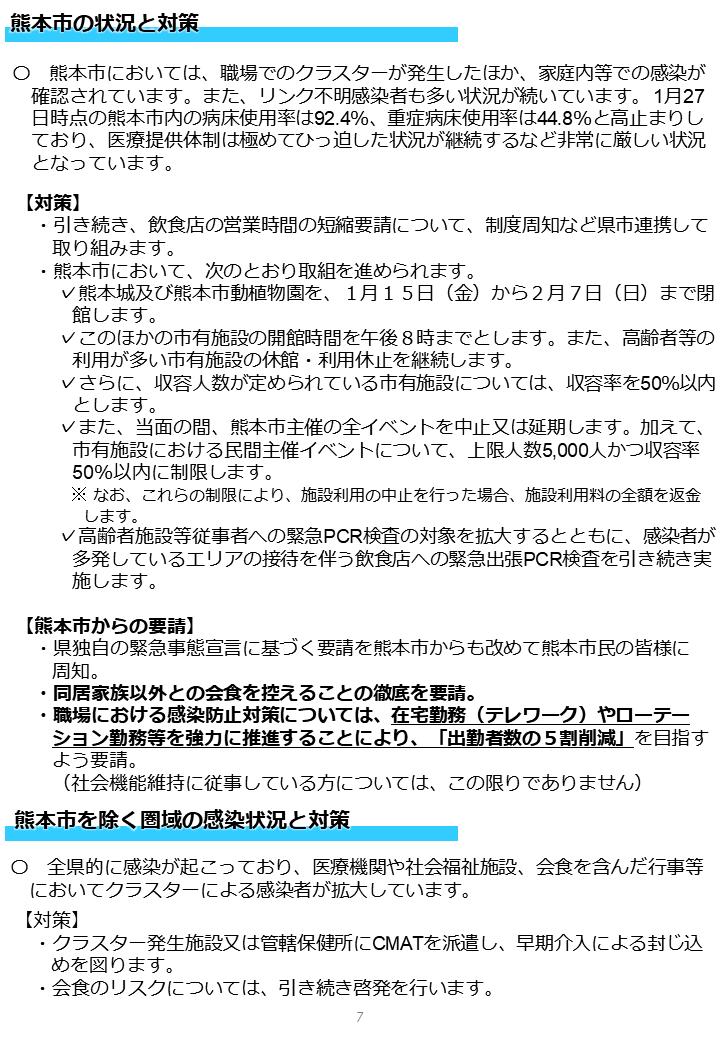 クラスター 熊本