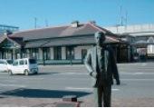夏目漱石銅像