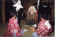 野出(のいで)春日神社大神楽