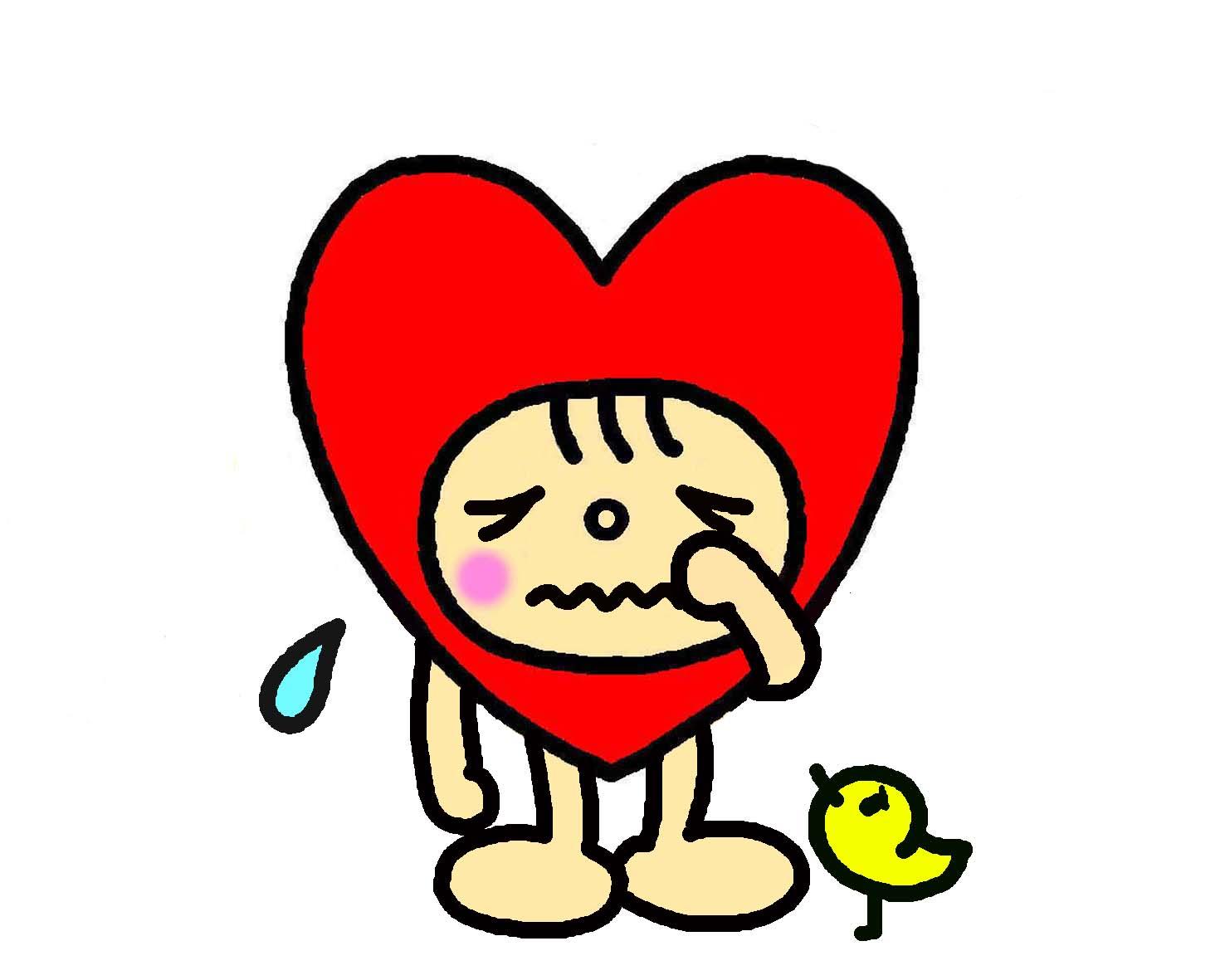 泣いているラブミン