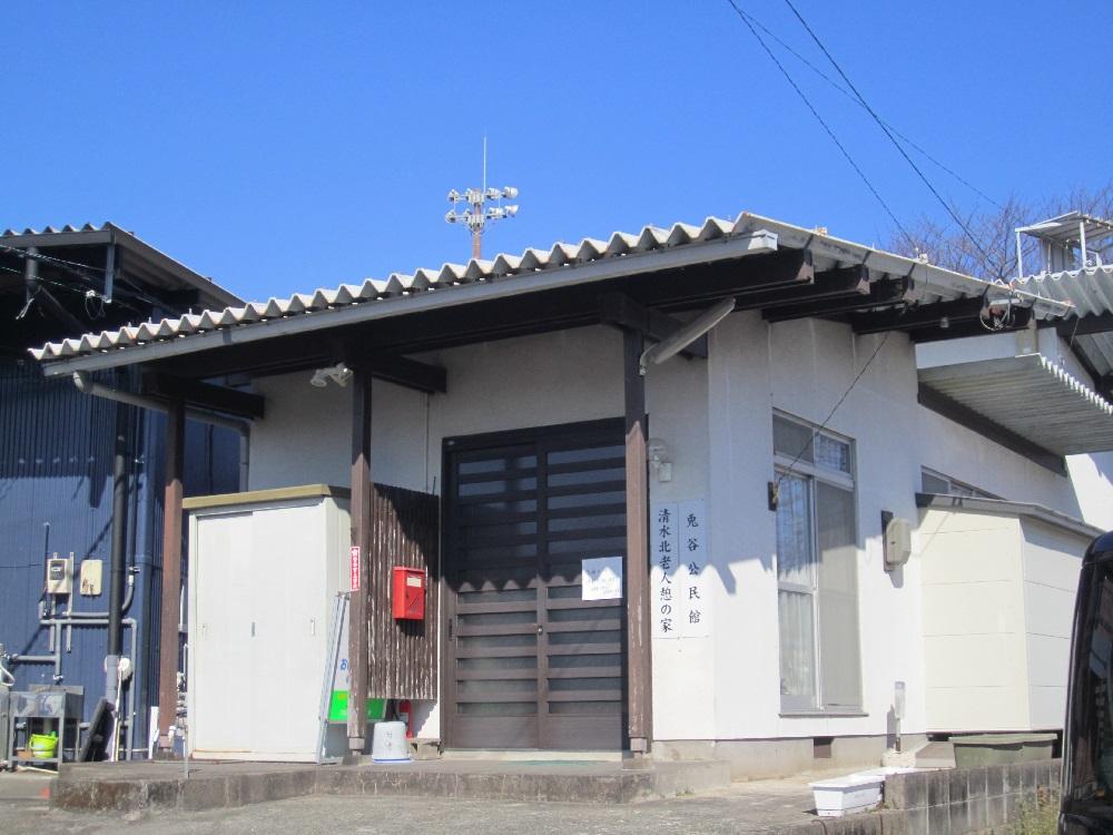 3206(3302) 兎谷公民館(清水北老人憩の家)