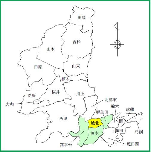08(城北)配置図