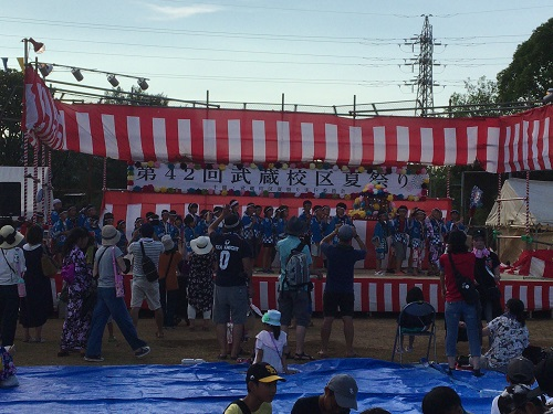 5001武蔵校区夏祭り