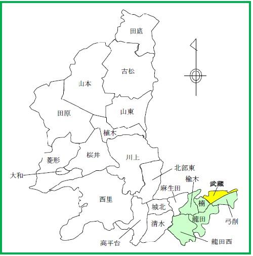 19(武蔵)配置図