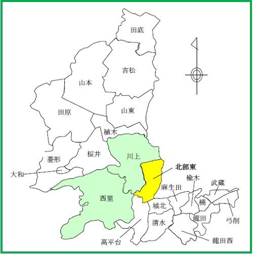 18(北部東)配置図