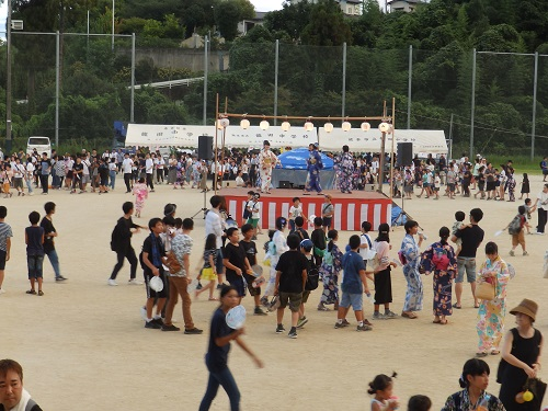 503龍田校区 夏祭り