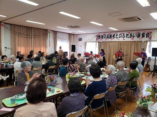 507龍田校区 ふれあい昼食会