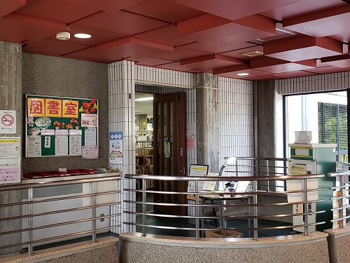 4104龍田校区 龍田公民館図書室
