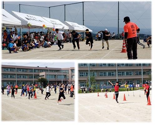 504龍田西校区 町民体育祭