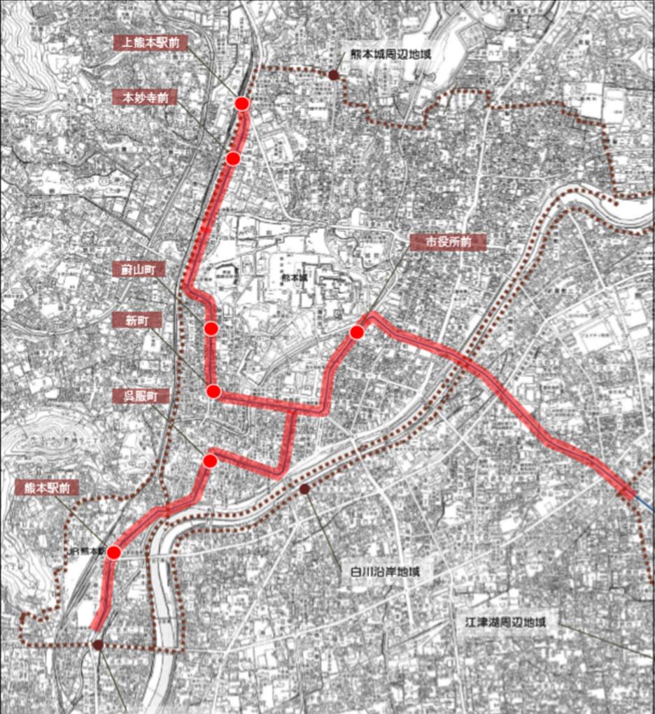 電車通沿線地域1