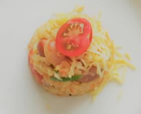 まるごとトマトの炊き込みご飯