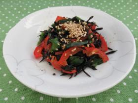 カラフル夏野菜炒め
