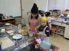 『親子料理教室』