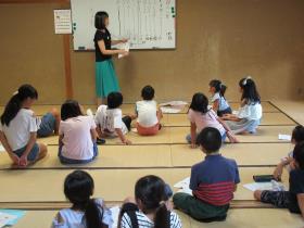 夏休み子ども百人一首教室